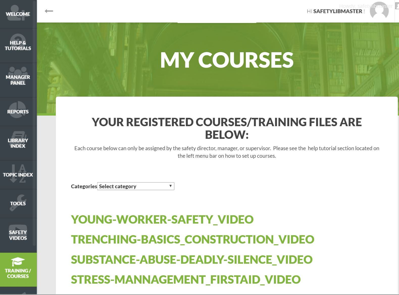 Safety Training Learning Management System - SafetyInfo